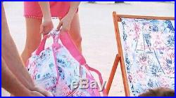 NWT Lilly Pulitzer Beach Cooler Backpack GWP in Sea To Shining Sea