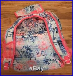 NWT Lilly Pulitzer Insulated Beach Cooler Backpack GWP Sea To Shining Sea