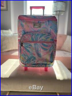 NWT Lilly Pulitzer Rolling Cooler Free Shipping