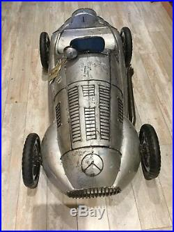 NWT Think Outside Metal Recycled Material Race Car city Car Beverage Ice Cooler