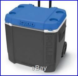 New Igloo Cooler 60 Quart Large Capacity Roller Rolling Ice Chest