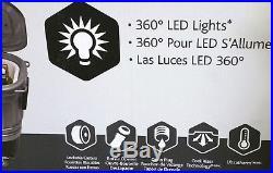 New Igloo Party Bar 360° LED Illuminated Portable Cooler, Large 125 Quart Chest
