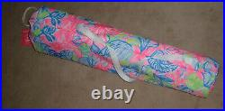 New Lilly Pulitzer Cooler Stand Havana Cocktail Drinks with Carrying Case PINK