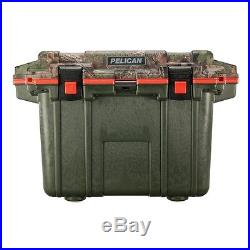 New Pelican Elite 50QT Marine Cooler/Ice Chest Made in USA #50Q-2-ODCAMO01ORG