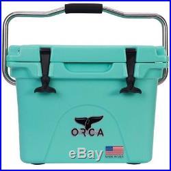 ORCA ORCSF/SF020 Seafoam Roto-Molded Cooler, 20 Quart Capacity