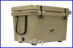 ORCA ORCT040 Durable Roto-Molded Cooler, Tan, 40 Qt Capacity