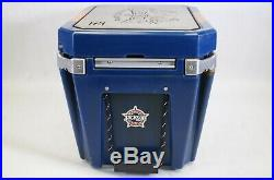ORION Coolers 25 Heavy Duty Insulated Ice Chest Cooler Blue/Orange