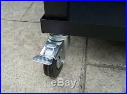 Oakland Living 80-Quart Steel Beverage Cooler Ice Chest Rolling Cart Outdoor NEW