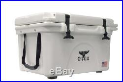 Orca Cooler ORCW026 ORCA 26 Quart Cooler White