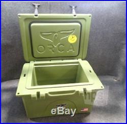 Orca Coolers TW026ORC Green 26qt Cooler, 23.75x17.5x14.75