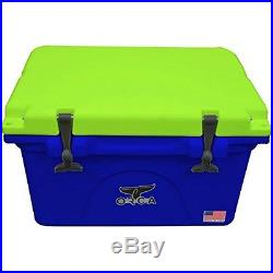 Orca ORCBL/CH026 Blue/Chartreuse 26 Cooler NEW