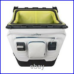 OtterBox 30-Quart Trooper Cooler with Carry Strap, Hazy Harbor Gray (Open Box)