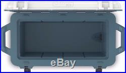OtterBox Venture 65-Quart Cooler Hudson (White/Blue) 77-54868 Used