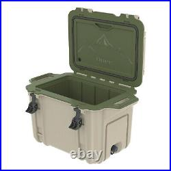 OtterBox Venture Heavy Duty Camping Fishing Cooler 45-Quarts, Green (Open Box)