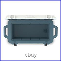 OtterBox Venture Heavy Duty Camping Fishing Cooler 65-Qts, White/Blue (Open Box)