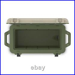 OtterBox Venture Heavy Duty Fishing Cooler 65-Quarts, Tan/Green (Open Box)