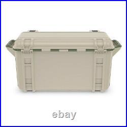 OtterBox Venture Outdoor Camping Fishing Cooler 65-Quarts, Tan/Green (Used)