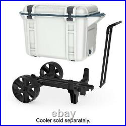 OtterBox Wheels Cooler Accessory for Venture 45 & 65 Coolers, Black (Open Box)