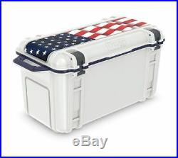 Otterbox Venture Limited Edition Americana Hard Cooler, White/Red/Blue, 65 Quart
