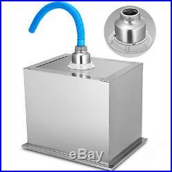 Outdoor Kitchen Drop-in Ice Chest Cooler 304 Stainless Steel Patio Beer Bin Box