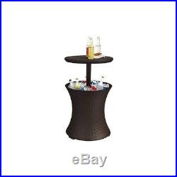 Outdoor Patio Pool Bar Cooler Deck Party Beverage Cocktail Ice BBQ Furniture