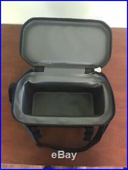 PELICAN 12 CAN SOFT ELITE COOLER BLACK SOFT-SC12-BLK Leak Proof NEW