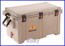 PELICAN 150QT Marine Chest Cooler, 150 qt, Tan