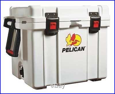 PELICAN 35Q-MC Full Size Chest Cooler, 35 qt, White