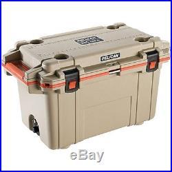 PELICAN 70-Quart Elite Deluxe Cooler (Beige) 70Q-2-TANORG 70Q2TANORG 82549406750