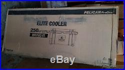 PELICAN PROGEAR 250QT ELITE COOLER new in the original box
