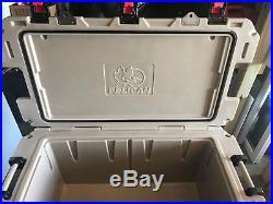 PELICAN Polyethylene Marine Chest Cooler, 150 qt, Tan, 150QT