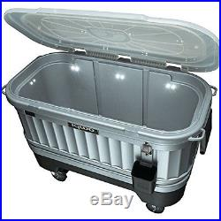 Party Bar Cooler Pool Ice Chest Drinks Storage Outdoor Dinner BBQ Patio Camping