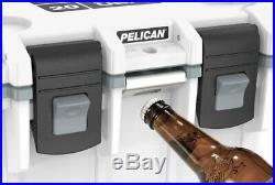 Pelican 20QT ELITE COOLER -WHT/GRY- (20Q-1-WHTGRY)