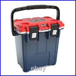 Pelican 20QT Elite Cooler Extreme Ice Retention Americana Blue Red White