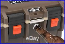 Pelican 20Q-2-BRNTAN 20QT Elite Cooler Brown/Tan