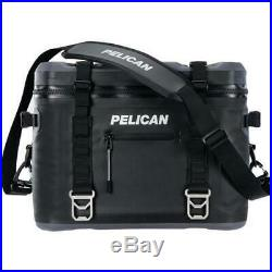 Pelican 24 Can Elite Soft Cooler Black