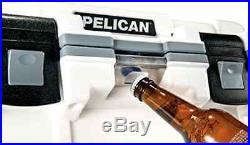 Pelican 30QT Elite Cooler 30 Quart (White/Gray)