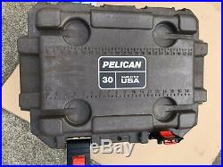 Pelican 30 quart cooler 30Q-2-BRNTAN Color Brown/Light Brown