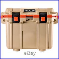 Pelican 30q-2-tanorg Coolers IM 30 Quart Elite Tan/orange