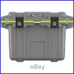 Pelican 50Q1DKGRYEGR Elite Cooler, 50 Qt, Dark Grey/Green