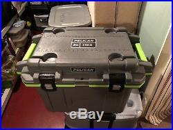 Pelican 50qt Elite Deluxe Cooler -Gray-Green