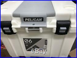 Pelican 55 QT Elite Tailgater Wheeled Cooler, White
