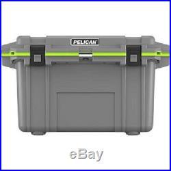 Pelican 70Q1DKGRYEGR Elite Cooler, 70 Qt, Dark Grey/Green