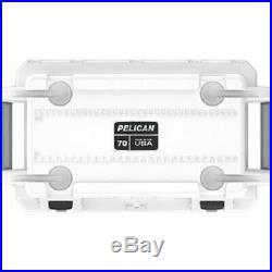 Pelican 70Q1WHTGRY 70 Quart Elite Cooler, White/Gray