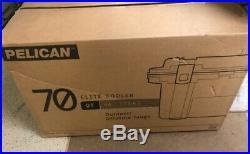Pelican 70Q-2-ODTAN IM Elite Cooler, OD Green/Tan, 70 qt