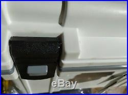 Pelican 70 QT Elite Cooler, White/Gray (Display Model)