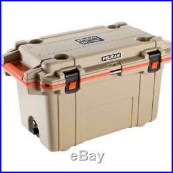Pelican 70q-2-tanorg Cooler IM 70 Quart Elite Tan/orange