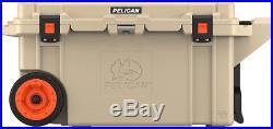 Pelican 80 Quart Wheeled Cooler 80QW-OC-TAN