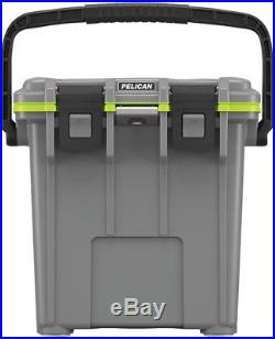 Pelican Chest Cooler Food Drink Storage Tailgating 20 Qt. Built-in Cup Holders