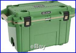 Pelican Cooler Im 70 Quart Elite Cactus Green-coyote